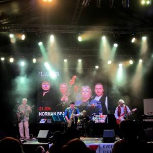 Norman Beaker Band - Festival JazzIbar 2014, Serbia