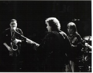 Norman Beaker with Dick Heckstall Smith & Jack Bruce